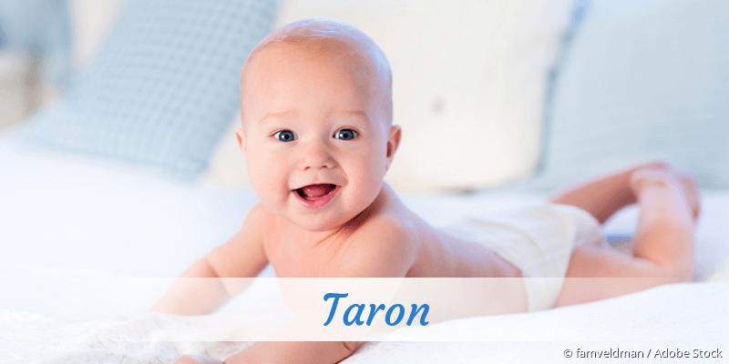 Name Taron als Bild