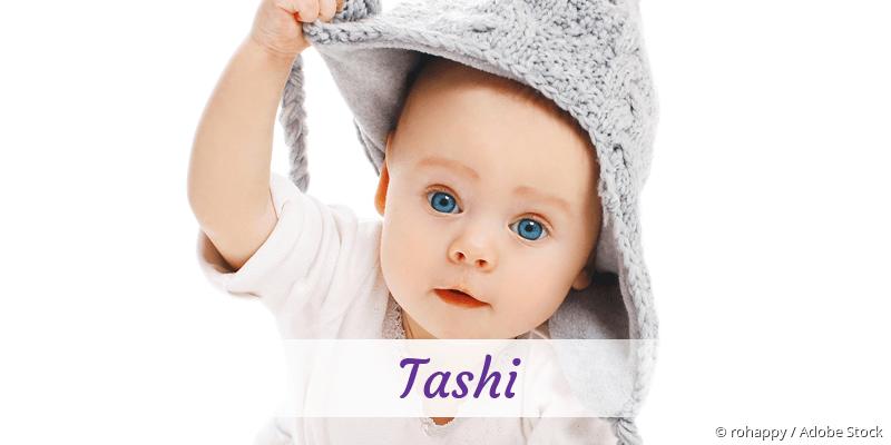 Name Tashi als Bild