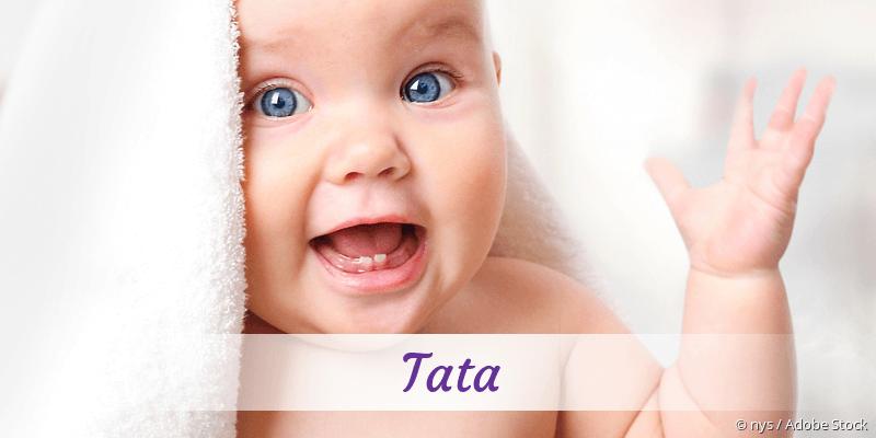 Name Tata als Bild