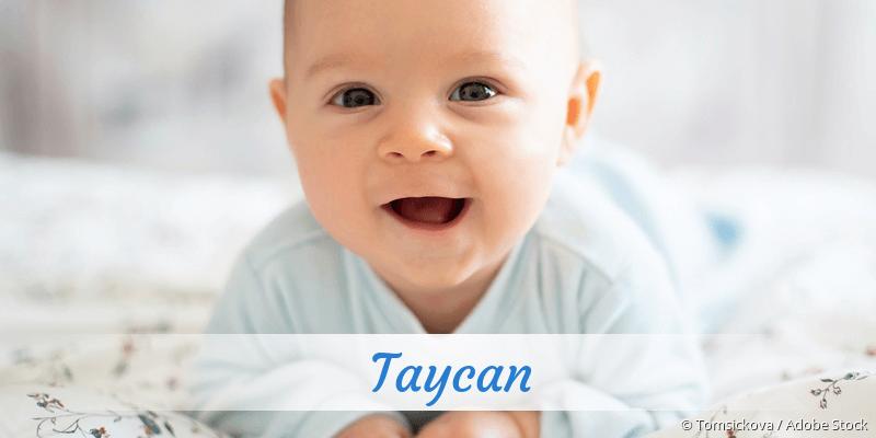Name Taycan als Bild