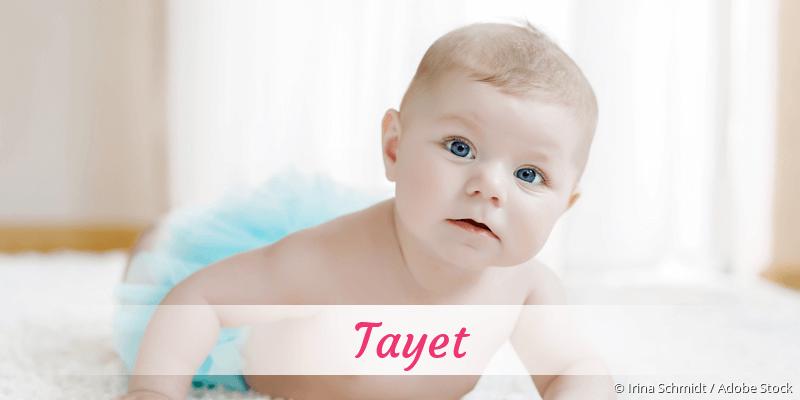 Name Tayet als Bild