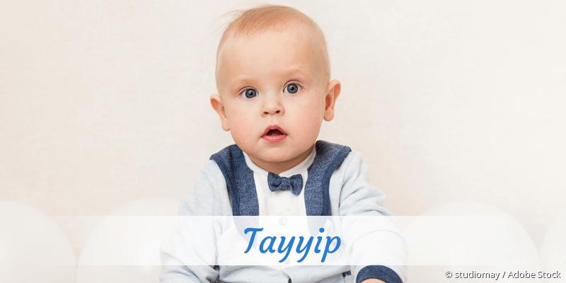 Name Tayyip als Bild