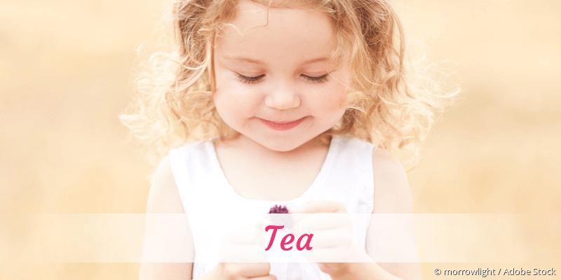 Name Tea als Bild