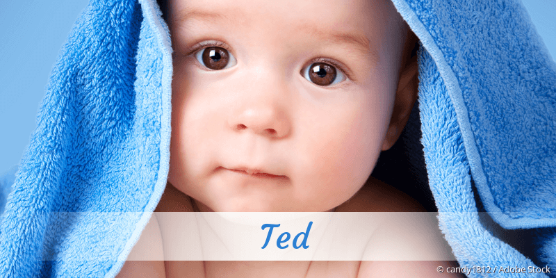 Name Ted als Bild