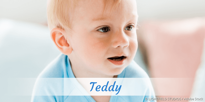 Name Teddy als Bild