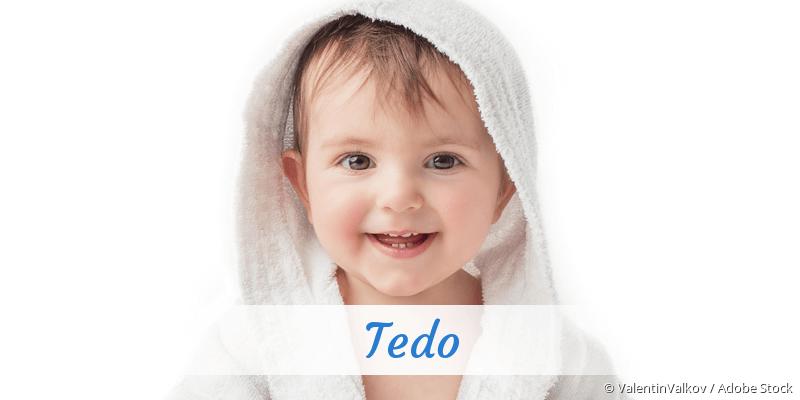 Name Tedo als Bild