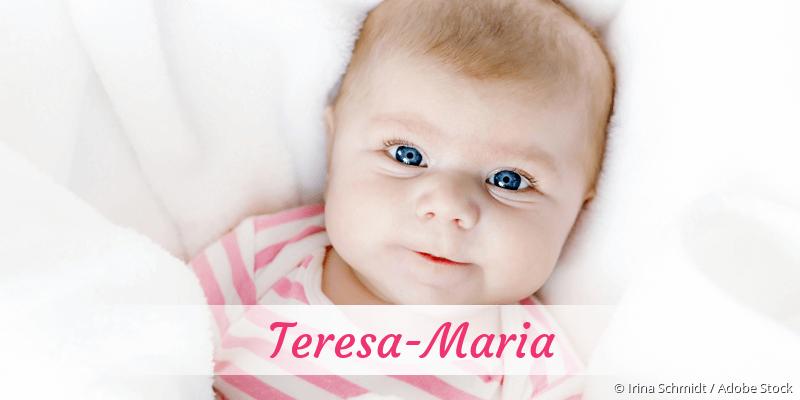 Name Teresa-Maria als Bild