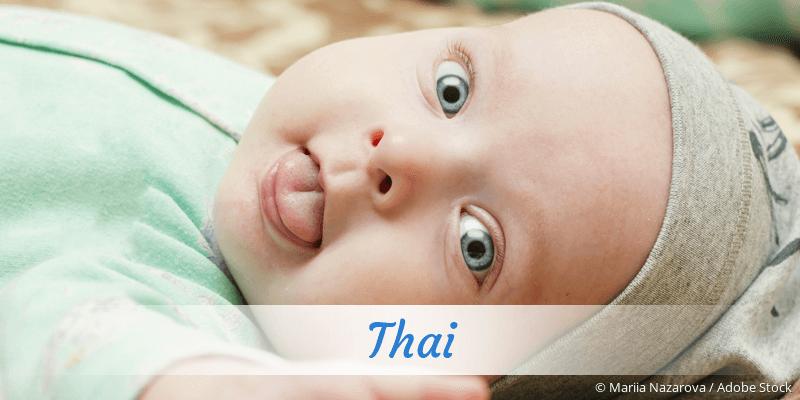 Vornamen thailändische (Deutsche) Vornamen