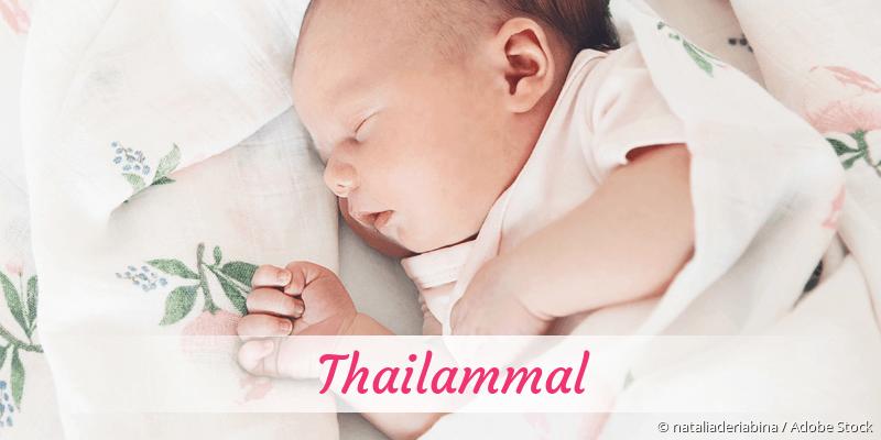 Name Thailammal als Bild