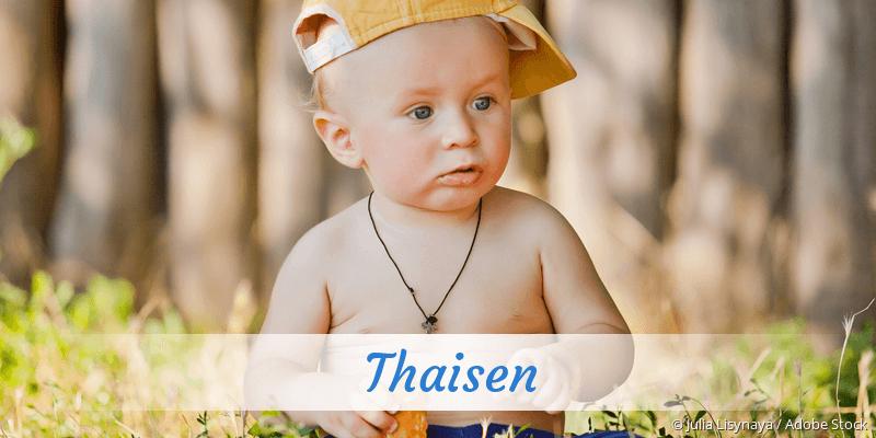 Name Thaisen als Bild