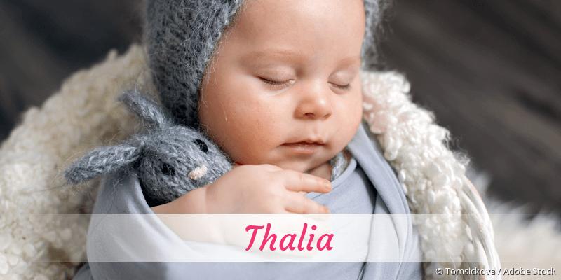 Name Thalia als Bild