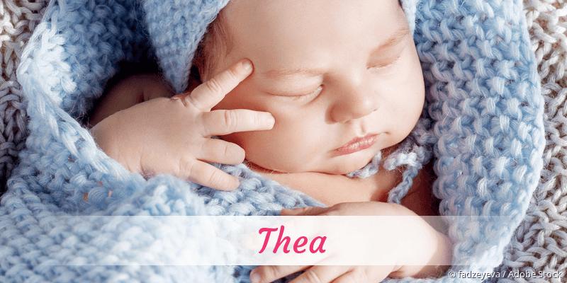 Name Thea als Bild