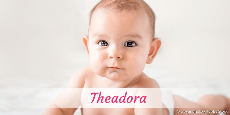 Name Theadora als Bild