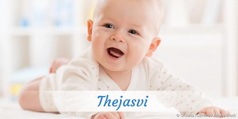 Name Thejasvi als Bild