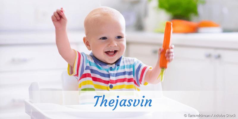 Name Thejasvin als Bild