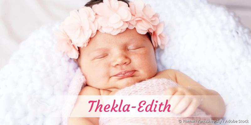 Name Thekla-Edith als Bild