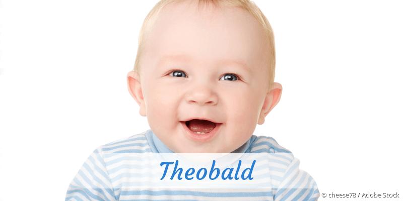 Name Theobald als Bild