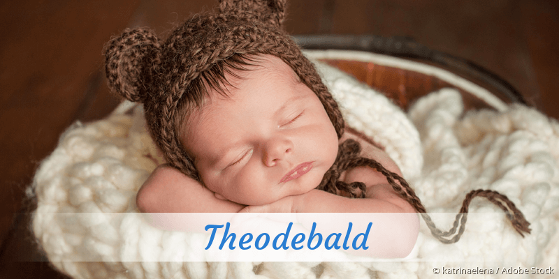 Name Theodebald als Bild