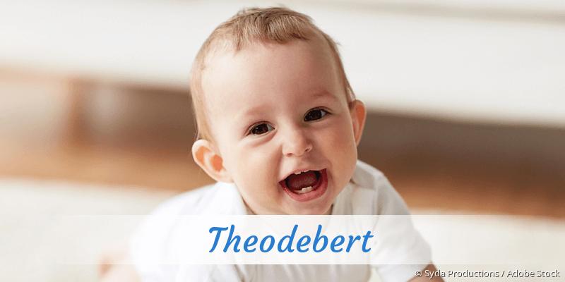 Name Theodebert als Bild