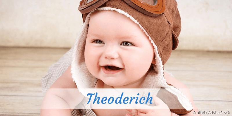 Name Theoderich als Bild