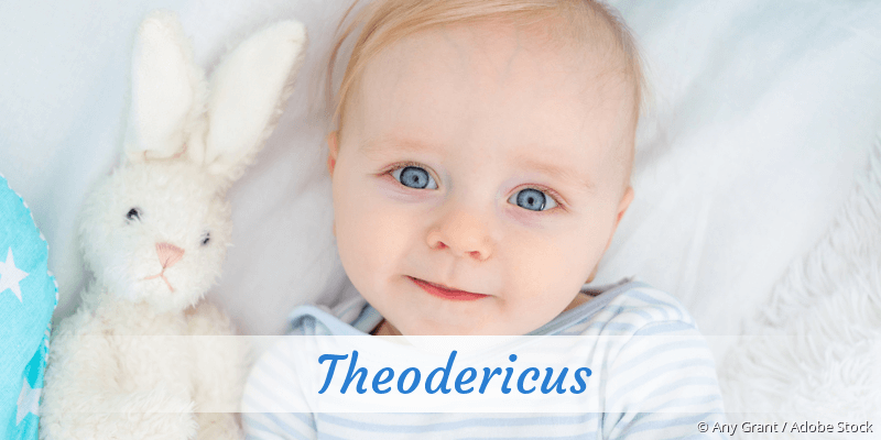 Name Theodericus als Bild