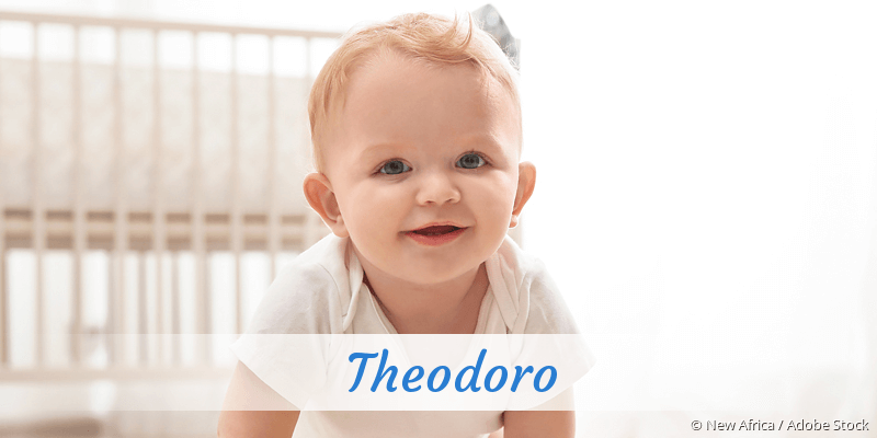 Name Theodoro als Bild
