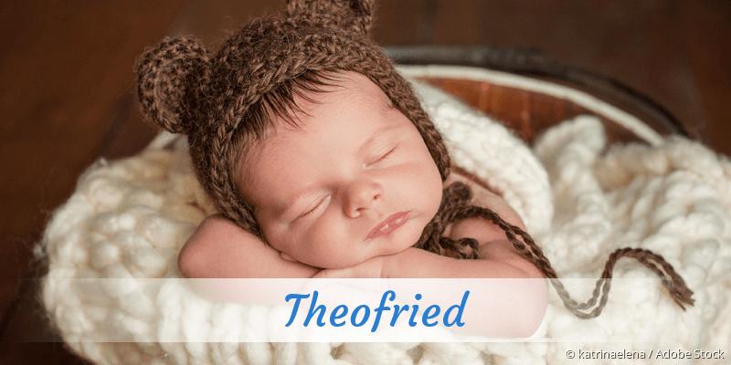Name Theofried als Bild