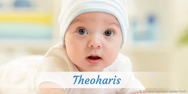 Name Theoharis als Bild