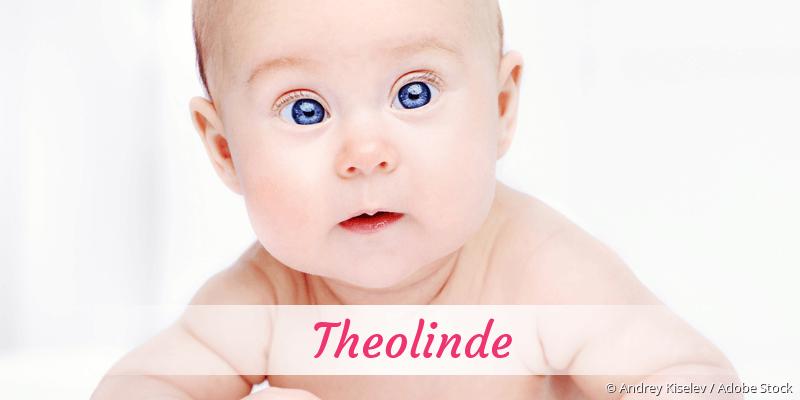 Name Theolinde als Bild