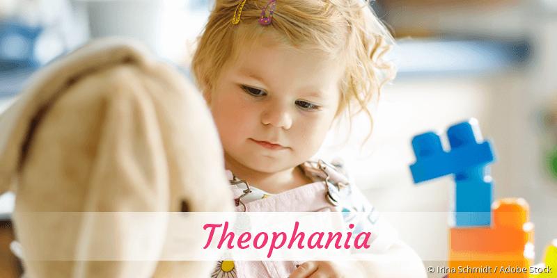Name Theophania als Bild