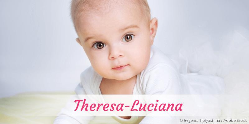 Name Theresa-Luciana als Bild