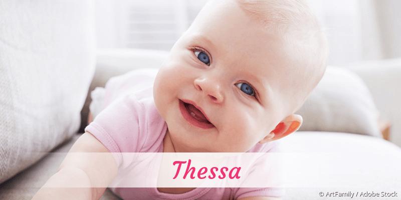 Name Thessa als Bild