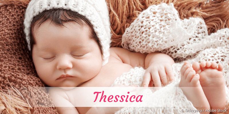Name Thessica als Bild
