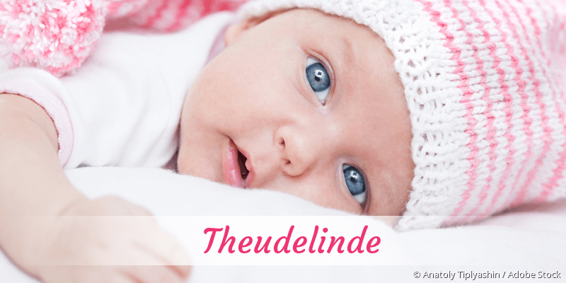Name Theudelinde als Bild