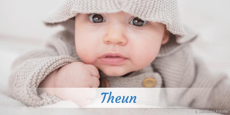 Name Theun als Bild