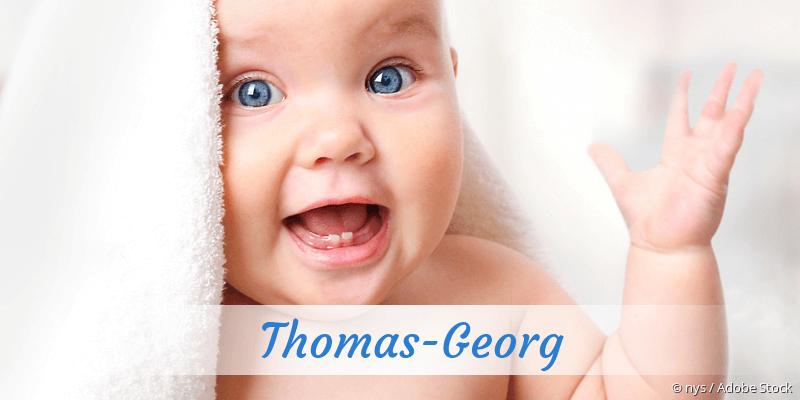 Name Thomas-Georg als Bild