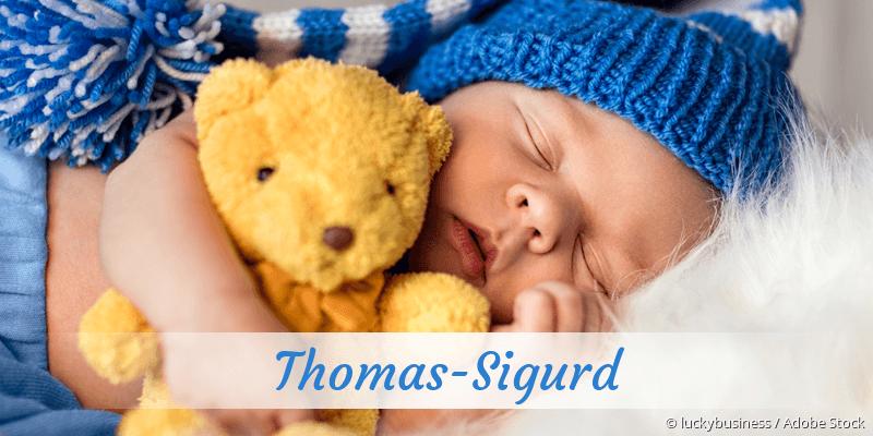 Name Thomas-Sigurd als Bild