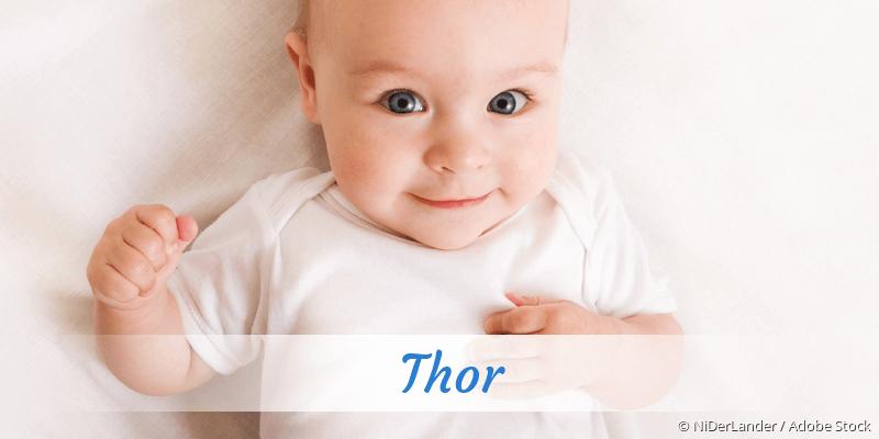 Name Thor als Bild