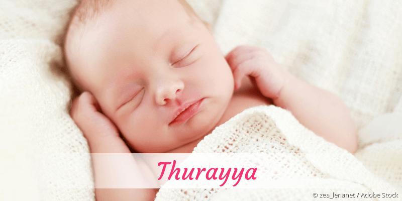 Name Thurayya als Bild