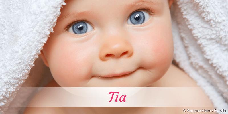 Name Tia als Bild