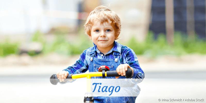 Name Tiago als Bild