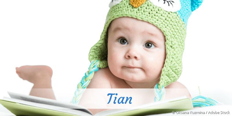 Name Tian als Bild