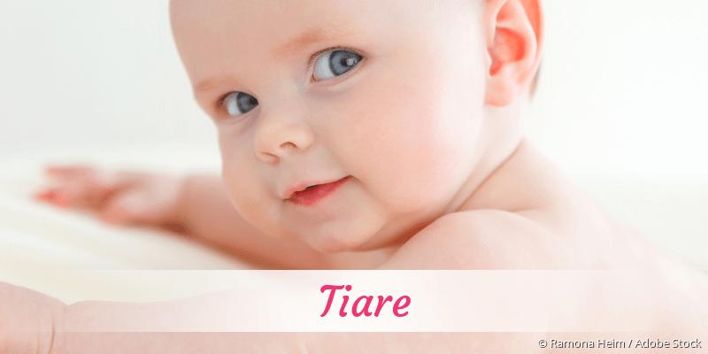 Name Tiare als Bild
