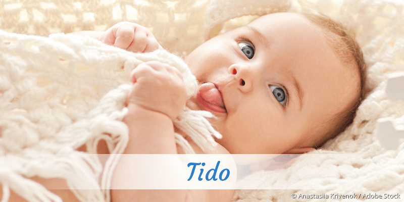 Name Tido als Bild