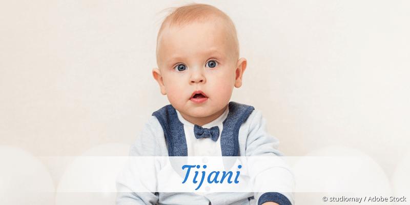 Name Tijani als Bild