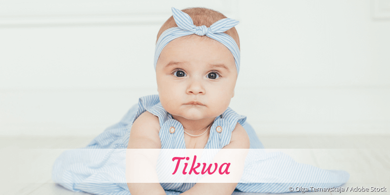 Name Tikwa als Bild
