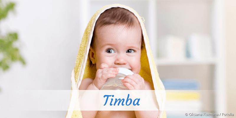 Name Timba als Bild