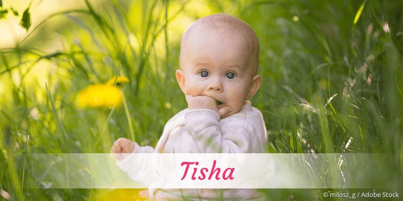 Name Tisha als Bild