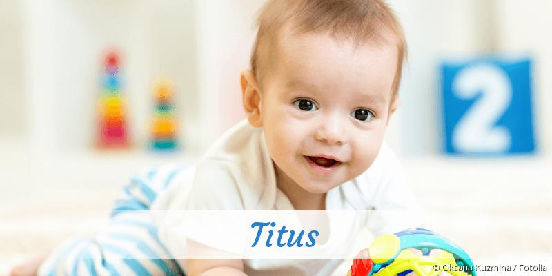 Name Titus als Bild