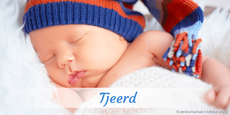 Name Tjeerd als Bild